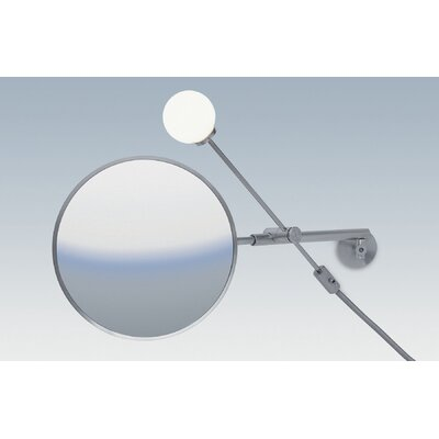WS Bath Collections Dr. Jane Wall-mount Magnifying (5X) Makeup Mirror with Light