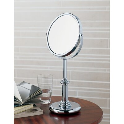 WS Bath Collections Pom d'Or Freestanding Magnifying (3X) Makeup Mirror