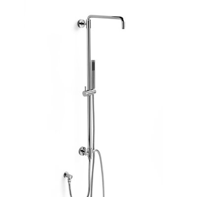WS Bath Collections Wall Mount 59&quot; Diverter Shower Faucet Bar