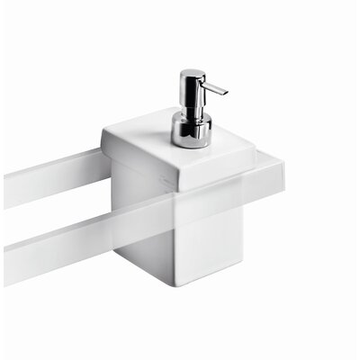 WS Bath Collections Skuara Soap Dispenser
