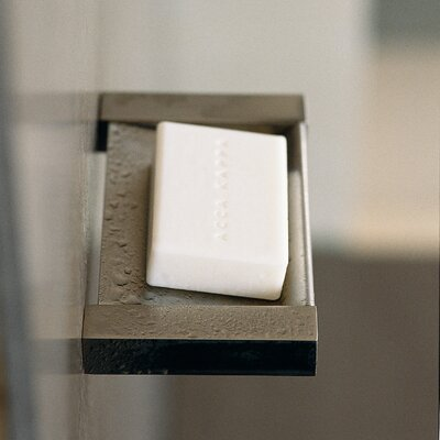 WS Bath Collections Metric Wall-Mount Soap Dish