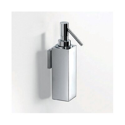 WS Bath Collections Metric Wall Mounted Soap Dispenser