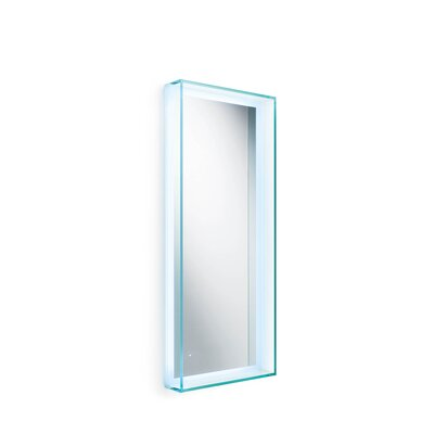 "WS Bath Collections Linea Speci 39.4"" x 15.8"" Wall Mirror"