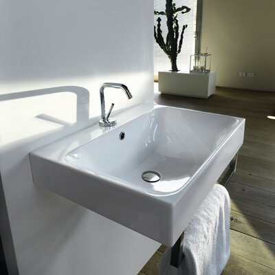 Kerasan Cento Wall Mounted / Vessel Bathroom Sink - Cento 3539
