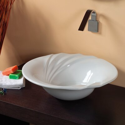 WS Bath Collections Ceramica Valdama LVT Vessel Bathroom Sink