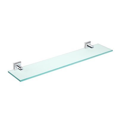 "WS Bath Collections Kubic Class 23.6"" Bathroom Shelf"