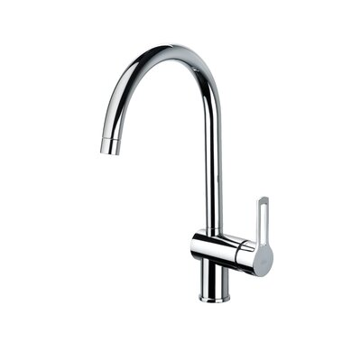 WS Bath Collections Fonte Ringo One Handle Single Hole Kitchen Faucet
