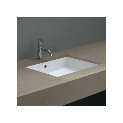 Ceramica Valdama Cubo Undermount Bathroom Sink - Cubo New 50