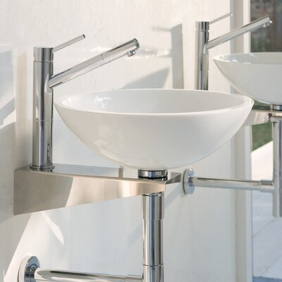 WS Bath Collections Linea Grepia Bathroom Sink