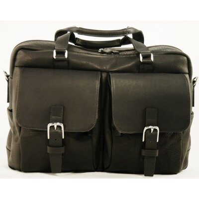 Korchmar LaRomana Compact Leather Laptop Briefcase