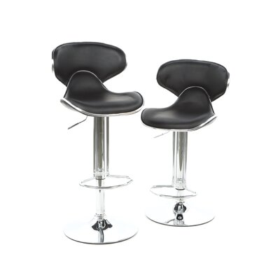 Scoop Gas Lift Swivel Barstool