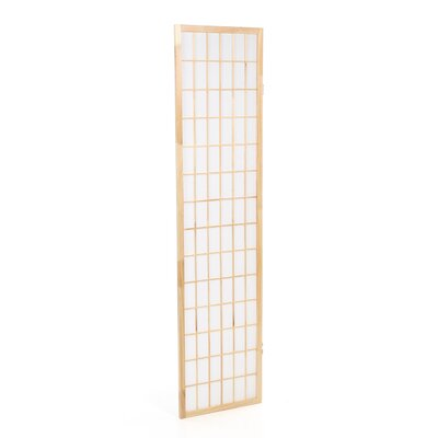 Wildon Home ® Three Panel Screen in Natural