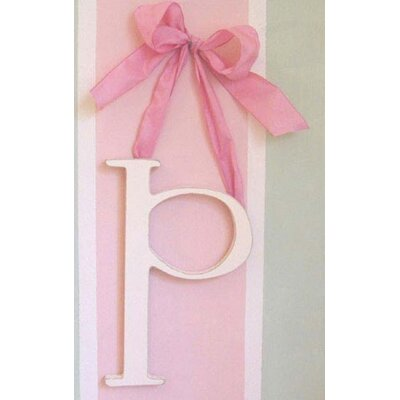 "New Arrivals 9"" Hand Painted Hanging Letter - P"