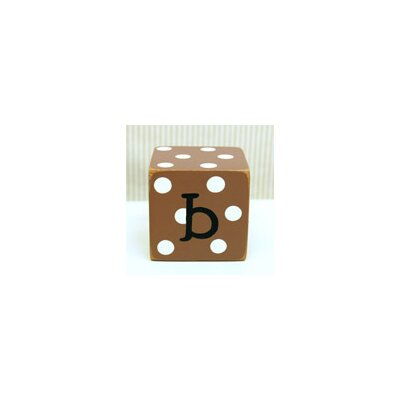 "New Arrivals ""b"" Letter Block in Chocolate"