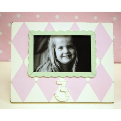 New Arrivals Harlequin 3rd Birthday Picture Frame