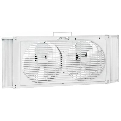 "Howard Berger 9"" Portable Twin Window Fan"