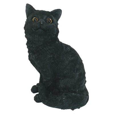 Cat Sitting Up Statue