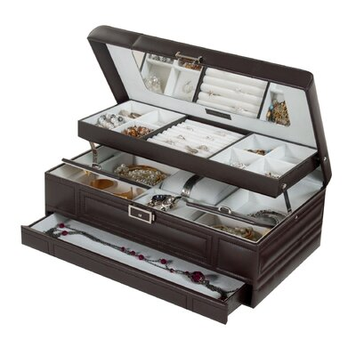Valencia Genuine Leather Jewelry Box