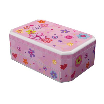 Mele Coral Girl's Musical Ballerina Jewelry Box