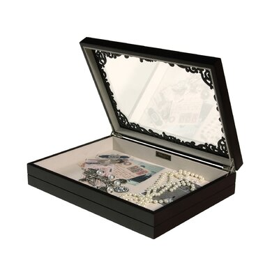 Sophia Filigree Shadow Box and Jewelry Case