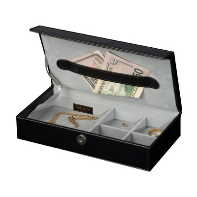 Adair Men's Travel Valet in Black