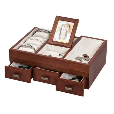 Mele & Co. Ashcroft Dresser Top Jewelry Box