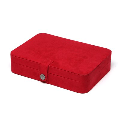 "<strong>Mele & Co.</strong> Renee 2.38"" High Jewelry Travel Case in Ruby Red"