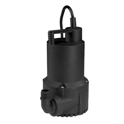 1/6 HP Oil-Free Thermoplastic Submersible Utility Pump