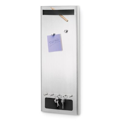 Muro Magnetic Board with Key Hooks and Magnets-Muro 0.8