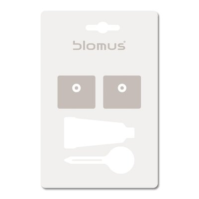 "Blomus Sento 33.46"" Towel Rail with Optional Wall Mounting Kit"