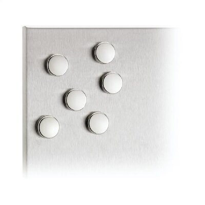 "Blomus Muro 1"" Magnets (Set of 6)"