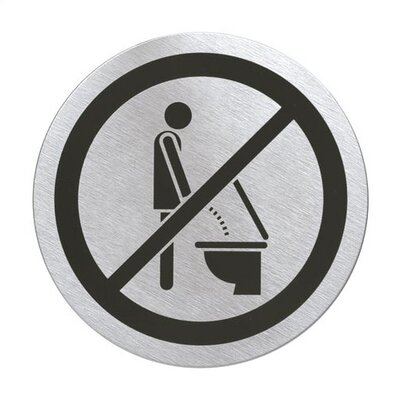 "Blomus Signo Door Plate ""Please Sit Down"""