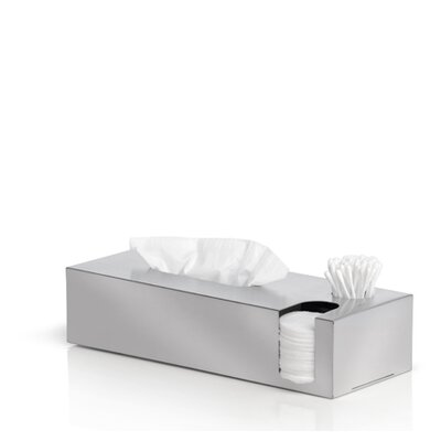 Blomus Nexio Tissue Box and Cotton Swab and Pads Dispenser