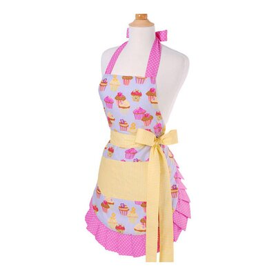 Flirty Aprons Women's Apron in Frosted Cupcake