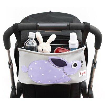 3 Sprouts Rabbit Stroller Organizer