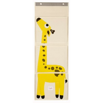 3 Sprouts Giraffe Wall Toy Organizer