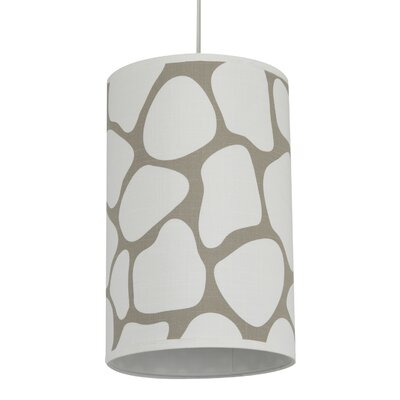 Oilo Cobblestone Cylinder Light in Taupe