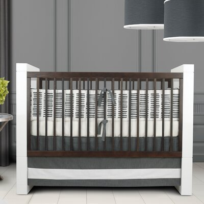 Oilo Sticks Motif Crib Bedding Set