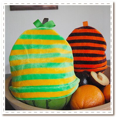 Satsuma Designs Striped Bamboo Hat