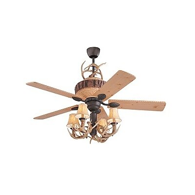 Monte Carlo Fan Company 52 Quot Great Lodge Pine 5 Blade