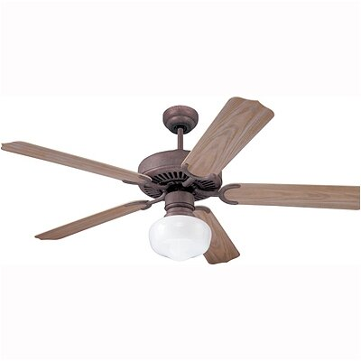 "Monte Carlo Fan Company 52"" Weatherford 5 Blade Ceiling Fan with Remote"