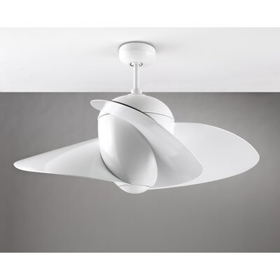 "Monte Carlo Fan Company 44"" Elliptical 3 Blade Ceiling Fan"