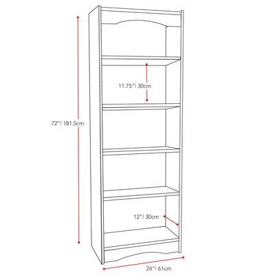 "dCOR design Hawthorn 72"" Bookcase"