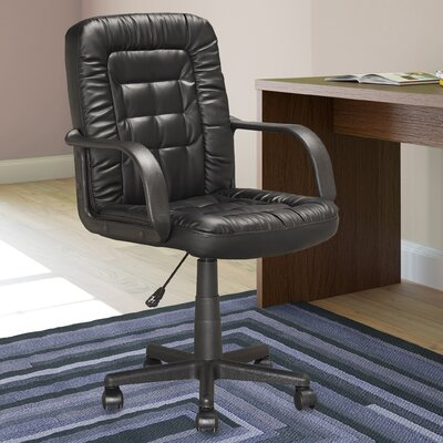 dCOR design Workspace Mid-Back Executive Office Chair with Arms