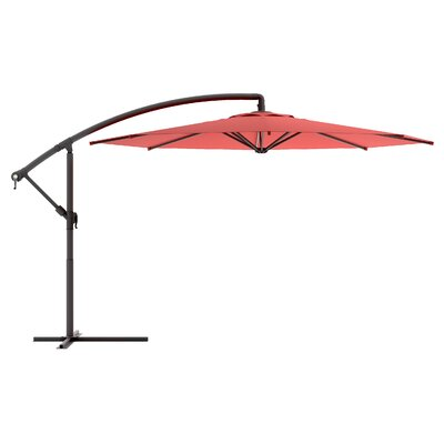"dCOR design 144"" CorLiving Offset Patio Umbrella"