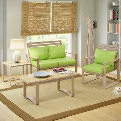 dCOR design Aquios 5 Piece Living Room Set