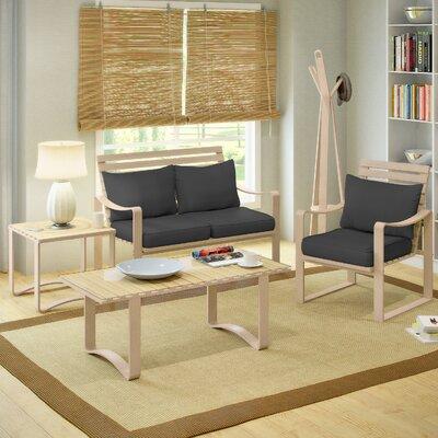 dCOR design Aquios 5 Piece Living Room Set