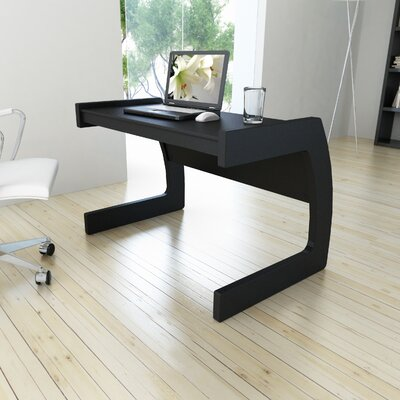 dCOR design Computer Desk with C-Shaped Legs