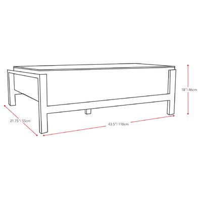 dCOR design Lakeside Coffee Table