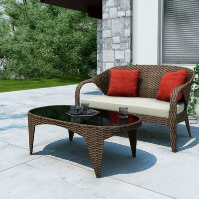 dCOR design Harrison Patio Sofa Set